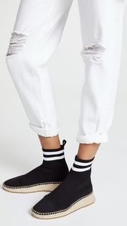 Denim x Alexander Wang Slack Rolled Boyfriend Jeans