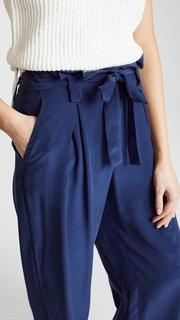 LAGENCE Samira Wide Paperbag Pants