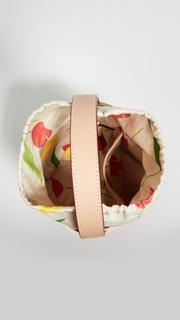 Frances Valentine Small Drawstring Bucket Bag