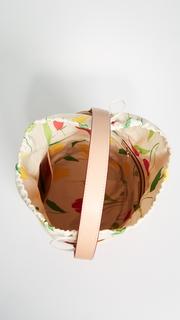 Frances Valentine Large Drawstring Bucket Bag