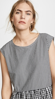 Madewell Tie Back Mini Dress