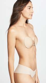 The Natural Lace Up Adhesive Bra