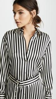 Edition10 Striped Shirtdress
