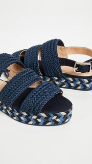 Castaner Wakame Flatform Sandals