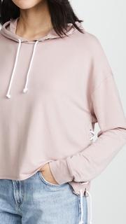 Generation Love Tessa Lace Up Sweatshirt