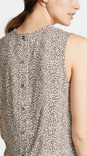 Jenni Kayne Leopard Shell Top