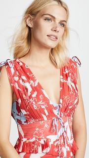 Tanya Taylor Parrot Angie Dress