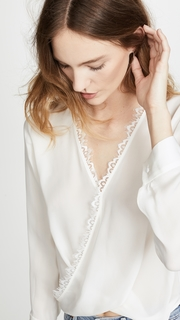 LAGENCE Rosario Blouse with Lace