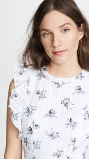 J.O.A. Soft Floral Blouse