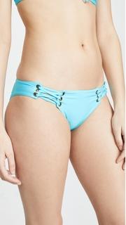 PilyQ Lace Up Bikini Bottoms