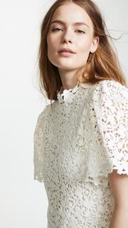 Rebecca Taylor Floral Lace Dress