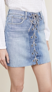 LAGENCE Portia Lace Up Skirt