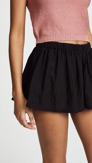 Riller & Fount Cher Gathered Shorts