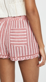 Soleil Striped Shorts