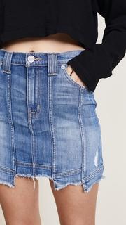 Hudson Weekender Step Hem Skirt