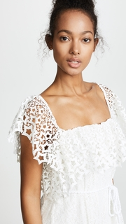 Miguelina Lotus Lace Haven Dress