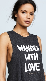 Spiritual Gangster x Cleobella Wander with Love Crop Tank