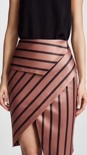 Michelle Mason Peplum Skirt