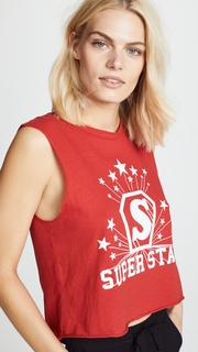 Pam & Gela Superstar Muscle Tee