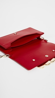 Edie Parker Candy Bar Clutch with Rainbow Coins