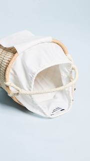 Sensi Studio Striped Bucket Bag