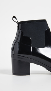 Hunter Boots Refined Mid Gloss Ankle Boots