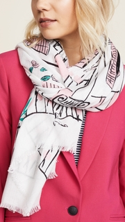 Kate Spade New York New Orleans House Scarf