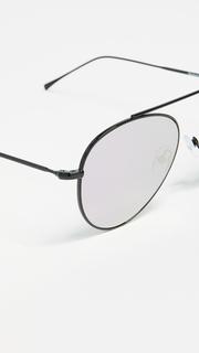 Illesteva Dorchester Mirrored Sunglasses