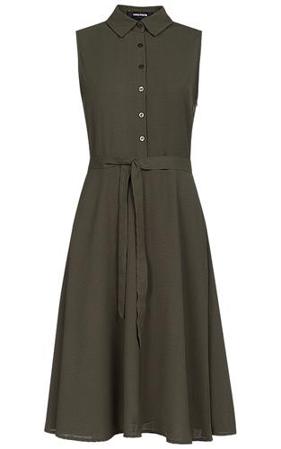 Платье с застежкой на пуговицы