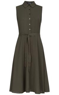 Платье с застежкой на пуговицы La Reine Blanche