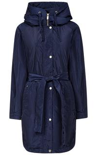 Утепленное пальто с поясом Madzerini