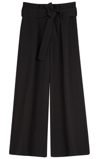 Черные брюки La Reine Blanche