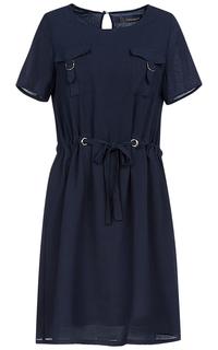 Платье с короткими рукавами La Reine Blanche