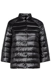 Черная куртка на искусственном пуху Acasta