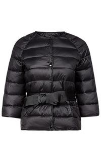 Утепленная куртка с поясом La Reine Blanche