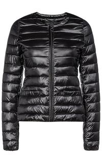 Черная куртка на искусственном пуху La Reine Blanche