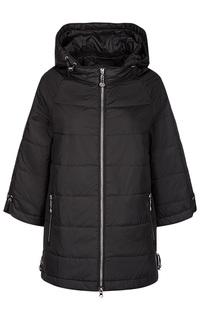 Черная куртка с капюшоном La Reine Blanche