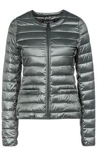 Стеганная куртка на искусственном пуху La Reine Blanche