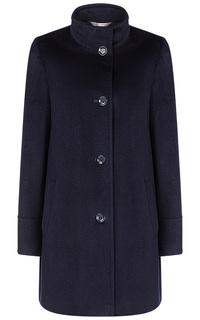 Темно-синее пальто Elema