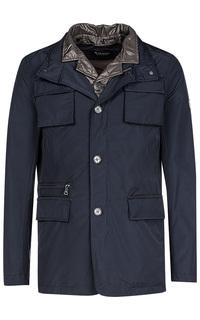 Комбинированная куртка на синтепоне Al Franco