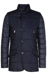 Комбинированная куртка на синтепоне Madzerini