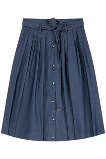 Расклешенная юбка с поясом La Reine Blanche
