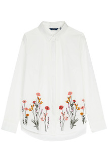 Блузка с вышивкой Tom Tailor