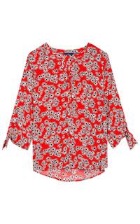 Блузка с цветочным принтом Tom Tailor