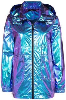 Блестящая куртка из металлизированной ткани Neohit