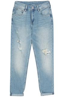 Женские джинсы с потертостями Pepe Jeans London
