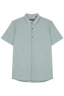 Хлопковая рубашка с короткими рукавами Al Franco