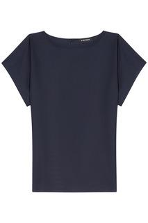 Черная футболка La Reine Blanche