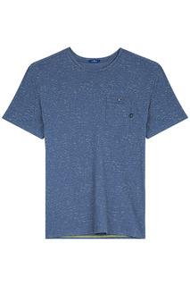 Базовая футболка с кармашком Tom Tailor