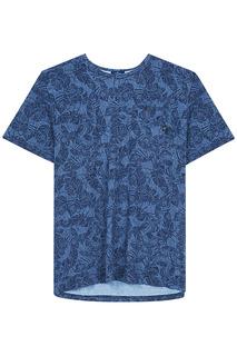 Мужская футболка с растительным принтом Tom Tailor